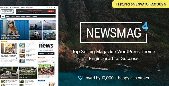 Newsmag v4.9.3 – News Magazine Newspaper nulled