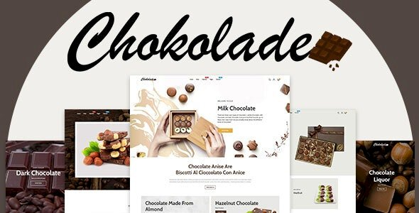 Chokolade v1.0.0 – Chocolate Sweets & Candy And Cake Shopify Theme