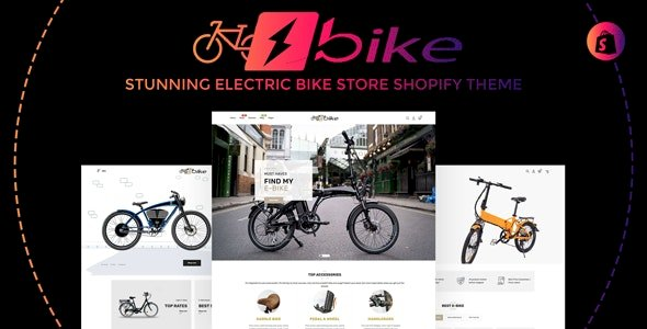 E-Bike v1.0.0 – Stunning Electric Bicycle Store Responsive Shopify Theme