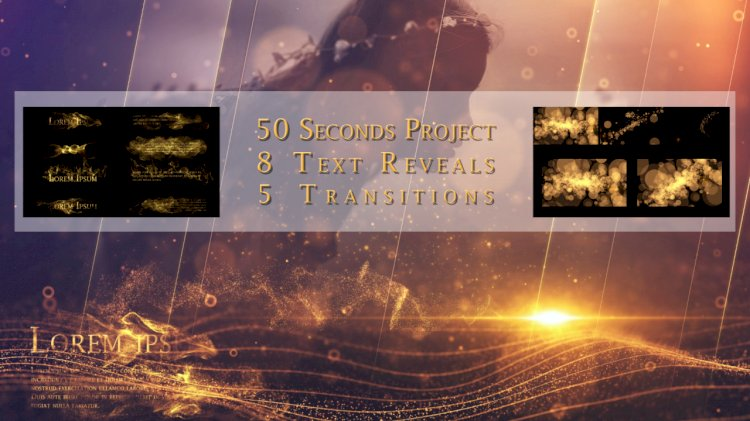 Light Holder – Transitions – Text Reveal 361783 – After Effects Templates