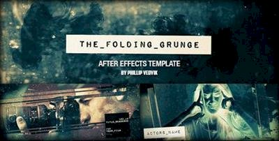 The Folding Grunge – Project for After Effects (VideoHive)
