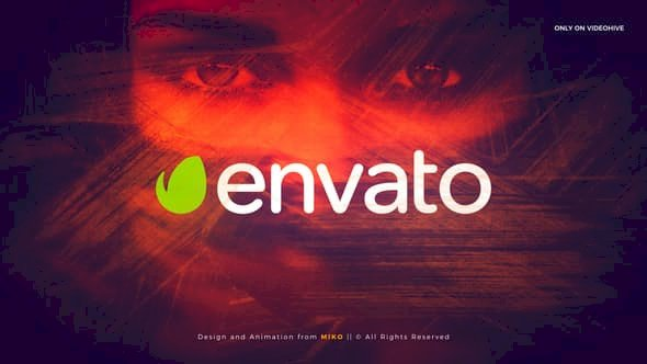 Videohive Brush Intro Logo – After Effects Project Files