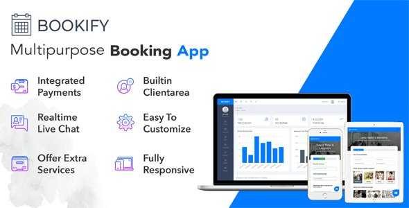 Bookify v1.3 – Multipurpose Booking App