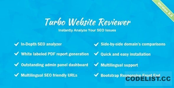 Turbo Website Reviewer v2.2 – In-depth SEO Analysis Tool