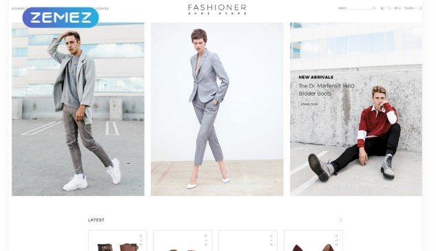 [Premium] Fashioner – shoes store OpenCart Template