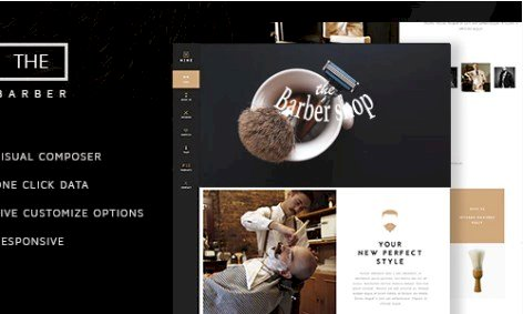 v.1.8.3 – The Barber Shop – One Page Theme For Hair Salon Nulled