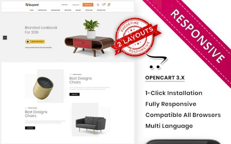 Buyent – The Multipurpose OpenCart Template Nulled Download