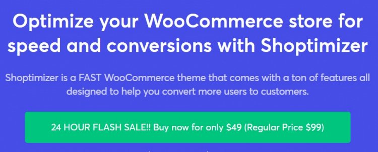 Shoptimizer Nulled v.2.2.3.1 – Optimize your WooCommerce store Free Download