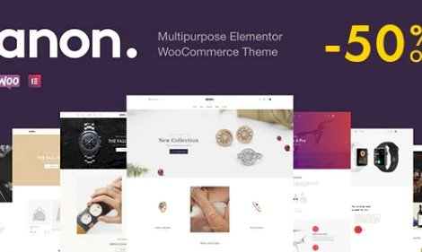 Anon Nulled v.1.6.0.1 – Multipurpose Elementor WooCommerce Themes Free Download