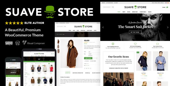 Suave Nulled v.1.9.8.1 – Multi-Purpose WooCommerce Theme Free Download