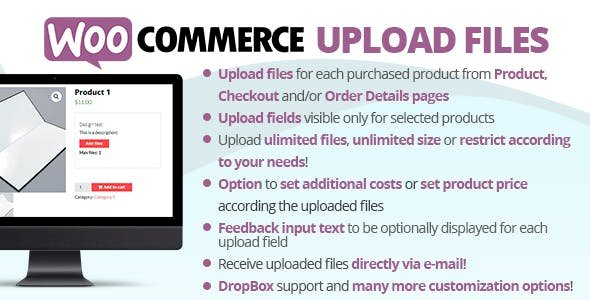 WooCommerce Upload Files Nulled v.56.5.1 Free Download