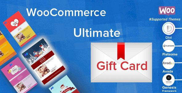 WooCommerce Ultimate Gift Card Nulled v.2.7.5.1 Free Download