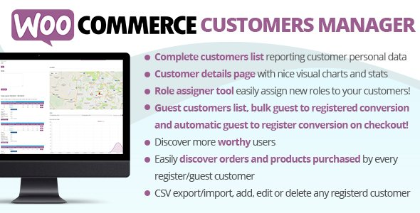 WooCommerce Customers Manager v26.0