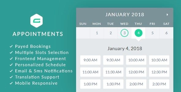 gAppointments – Appointment booking addon for Gravity Forms v1.9.5.1