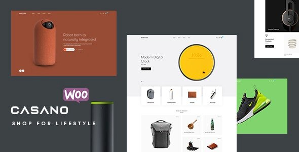 Casano – WooCommerce Theme For Accessories & Life Style v1.0.7