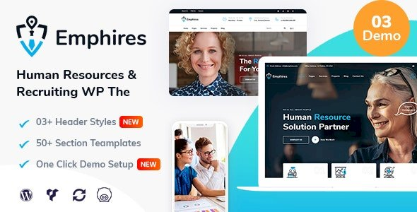 Emphires – Human Resources & Recruiting Theme v2.1
