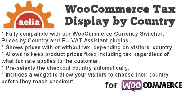Aelia Tax Display by Country for WooCommerce v1.16.0.210504