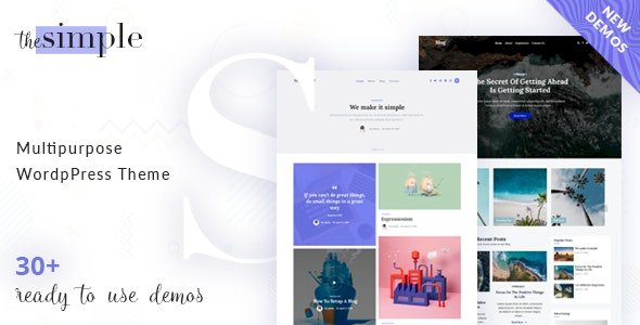 The Simple – Business WordPress Themes v2.7.2